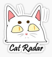 Cat Radar Sticker