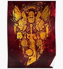 Warcraft Paladin Emblem Poster