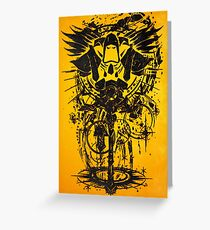 Warcraft Priest Emblem Greeting Card