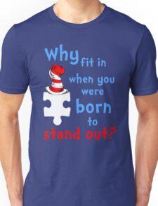 Autism Awareness dr seuss Unisex T-Shirt