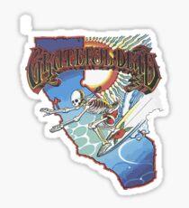 Grateful Surfer Sticker