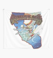 Grateful Surfer Wall Tapestry