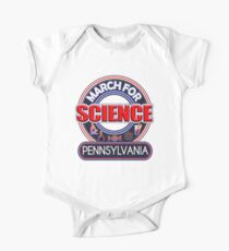 Climate Change March for Science Pennsylvania 2017 One Piece - Short Sleeve