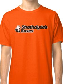 Retro Strathclyde Buses  Classic T-Shirt