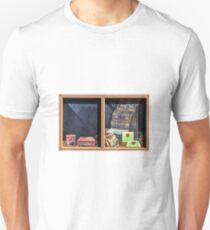 Old Store Front Window Unisex T-Shirt