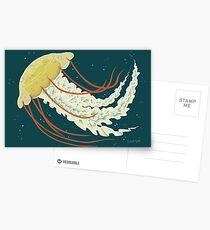 Nice Jellyfish Postcards