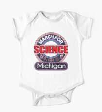 Climate Change March for Science MICHIGAN 2017 Shirts One Piece - Short Sleeve