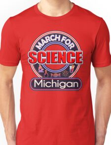 Climate Change March for Science MICHIGAN 2017 Shirts Unisex T-Shirt