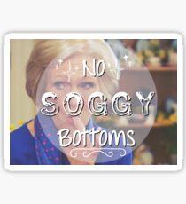 No Soggy Bottoms! Sticker