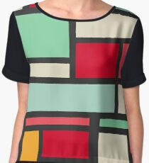 Mondrian Women's Chiffon Top