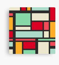 Mondrian Canvas Print