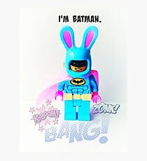 Lego Batman Photographic Print