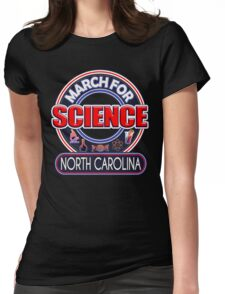 Climate Change March for Science North Carolina 2017 Shirts Womens Fitted T-Shirt