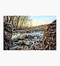 Between A Rock Photographic Print