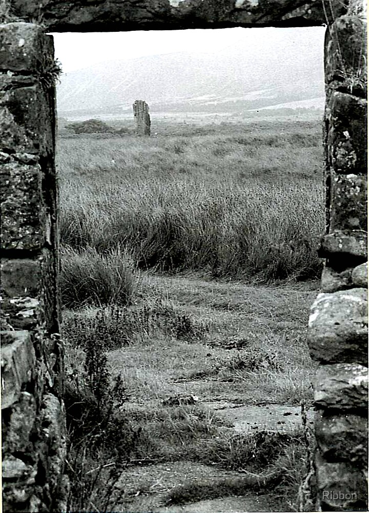 Standing Stone by Ribbon