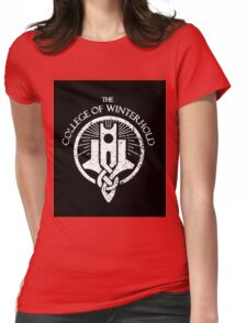 College of Winterhold Logo Design Womens Fitted T-Shirt