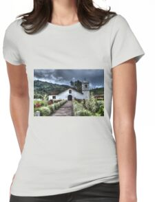 Orosí Old Church Womens Fitted T-Shirt