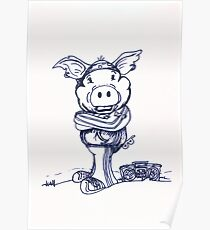 Mofo Pig Poster