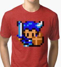 Golden Axe Warrior - SEGA Master System Sprite Tri-blend T-Shirt