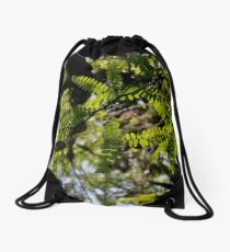 Bird Perching  Drawstring Bag