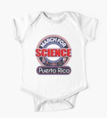 Climate Change March for Science Puerto Rico 2017 Shirts One Piece - Short Sleeve