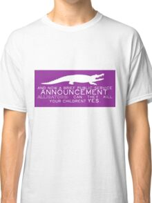 Alligator PSA Classic T-Shirt
