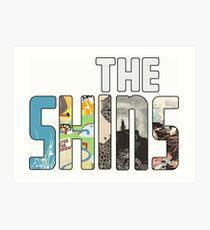 The Shins Art Print