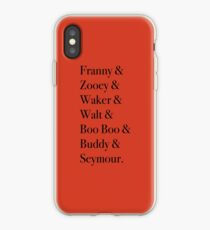 JD Salinger's Glass Family iPhone Case