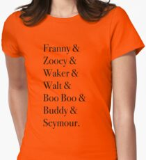 JD Salinger's Glass Family Women's Fitted T-Shirt