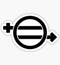 EQUAL MEANS EQUALITY FOR ALL Sticker