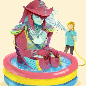 Prince Sidon Kiddie Pool by ravefirell