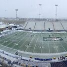 Snowy Bobcat Stadium - Montana State University by worldwideart