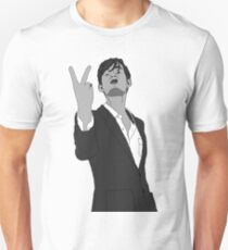 Jarvis Cocker Black & White Unisex T-Shirt