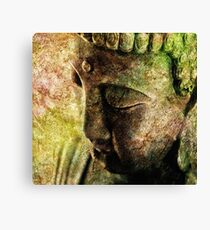 Buddha Head 3 Canvas Print