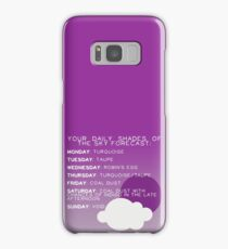 Your Daily Shades Of The Sky Forecast Samsung Galaxy Case/Skin