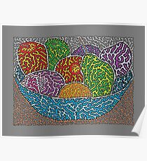 Bowl Of Fruit Poster