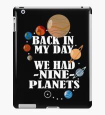 Back In My Day iPad Case/Skin