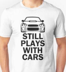 Still plays with cars - wrx sti Unisex T-Shirt