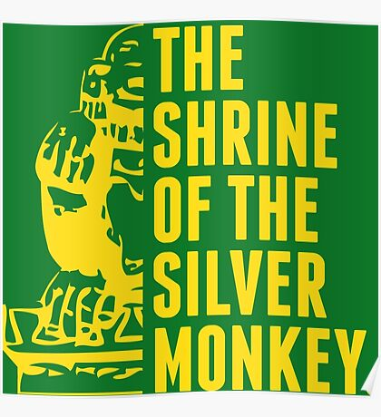 The Shrine of the Silver Monkey! Poster