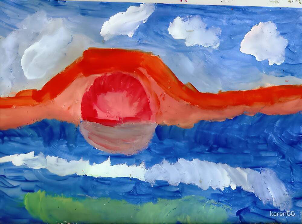 Mountain Sunset by karen66