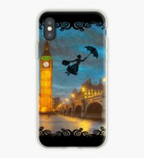 Magical Nanny Over London  iPhone Case