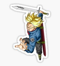 IKARI NO SAYAJIN TRUNKS Sticker