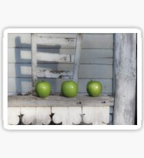 Green Apples Farm House Sticker