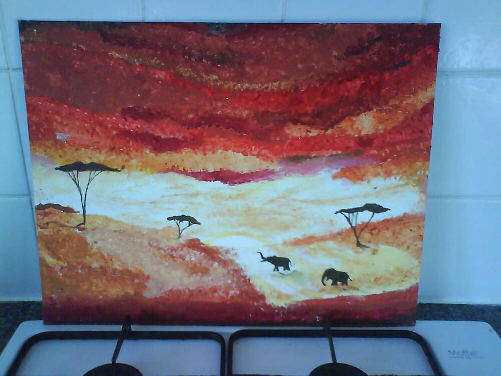 elephant sevanah by liannajay