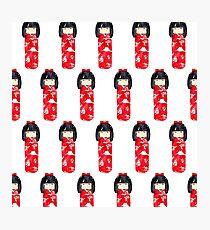 Kokeshi Dolls Photographic Print