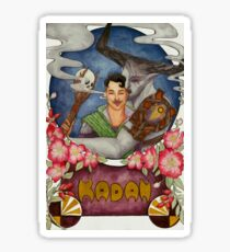 Kadan - Adoribull Watercolor Sticker