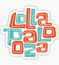 lolla Sticker