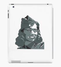 WWII Portrait iPad Case/Skin