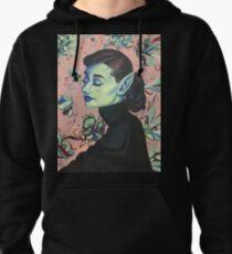 Audrey Hepburn, Waifish & Fae Pullover Hoodie