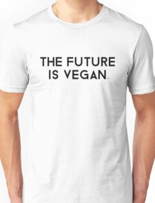 The Future is Vegan Unisex T-Shirt